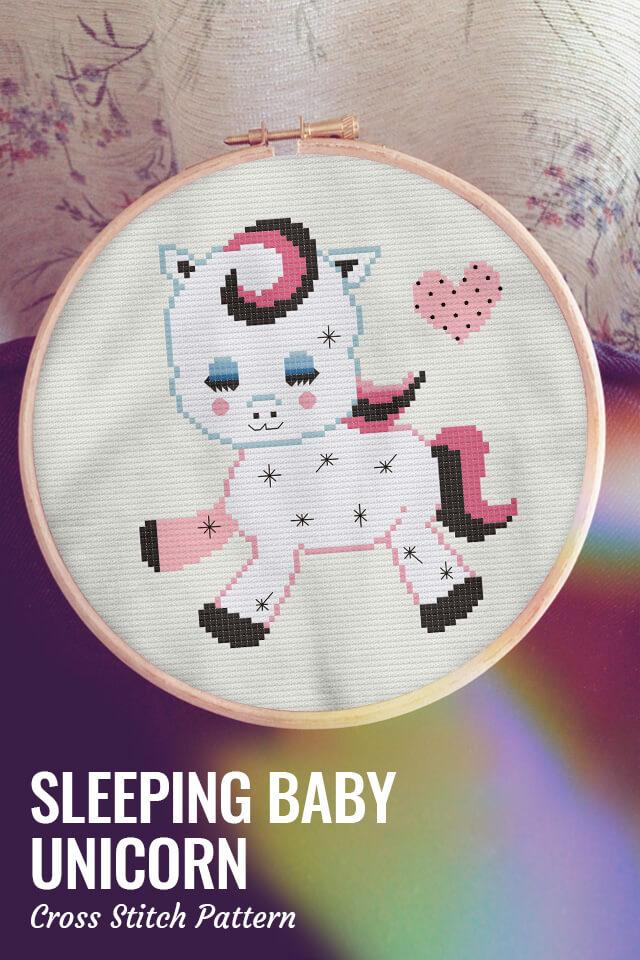 Sleeping Animals - Baby Unicorn