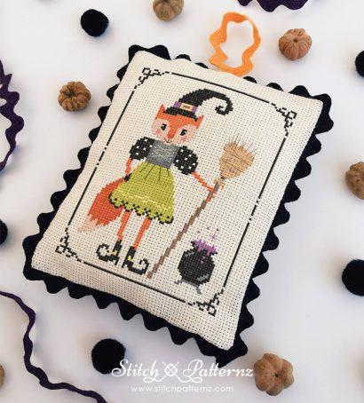 Halloween Witch Fox Girl