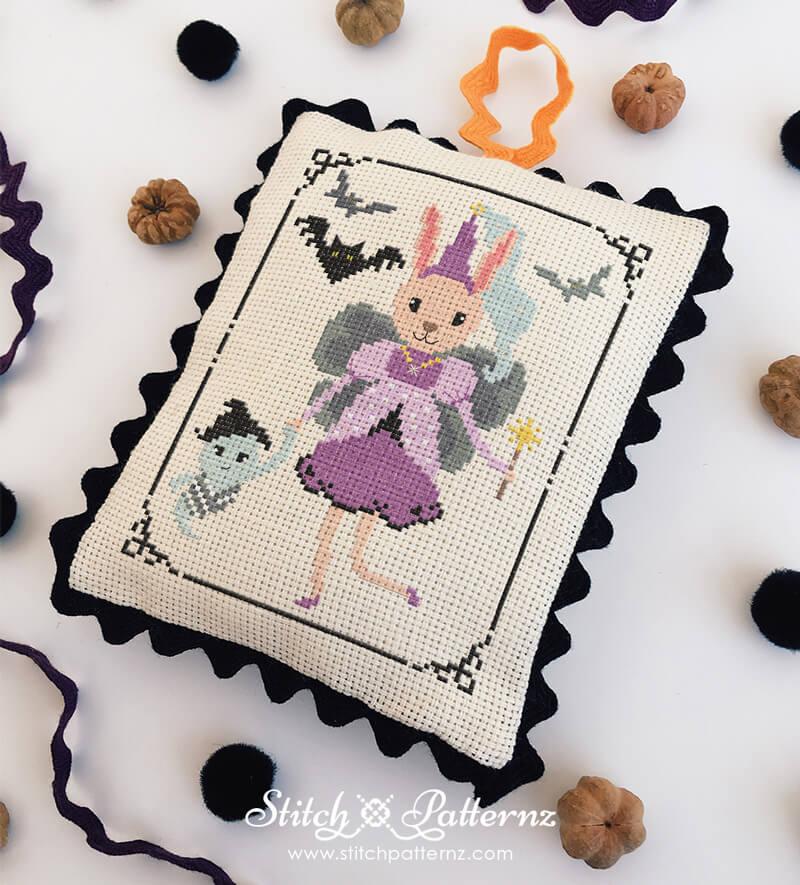 Halloween Fairy Bunny Girl