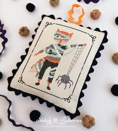 Halloween Mummy Fox Boy